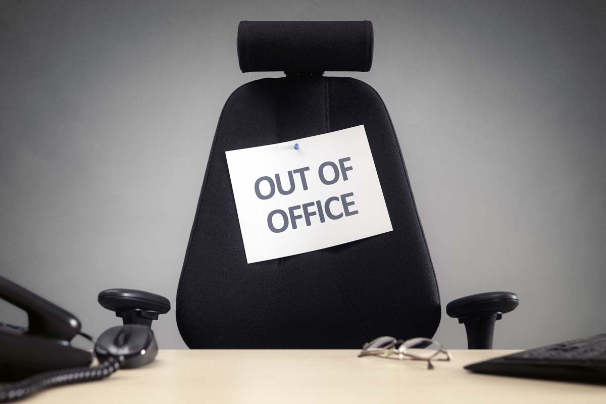 Out Of The Office If So Why Are You Stressing About Work